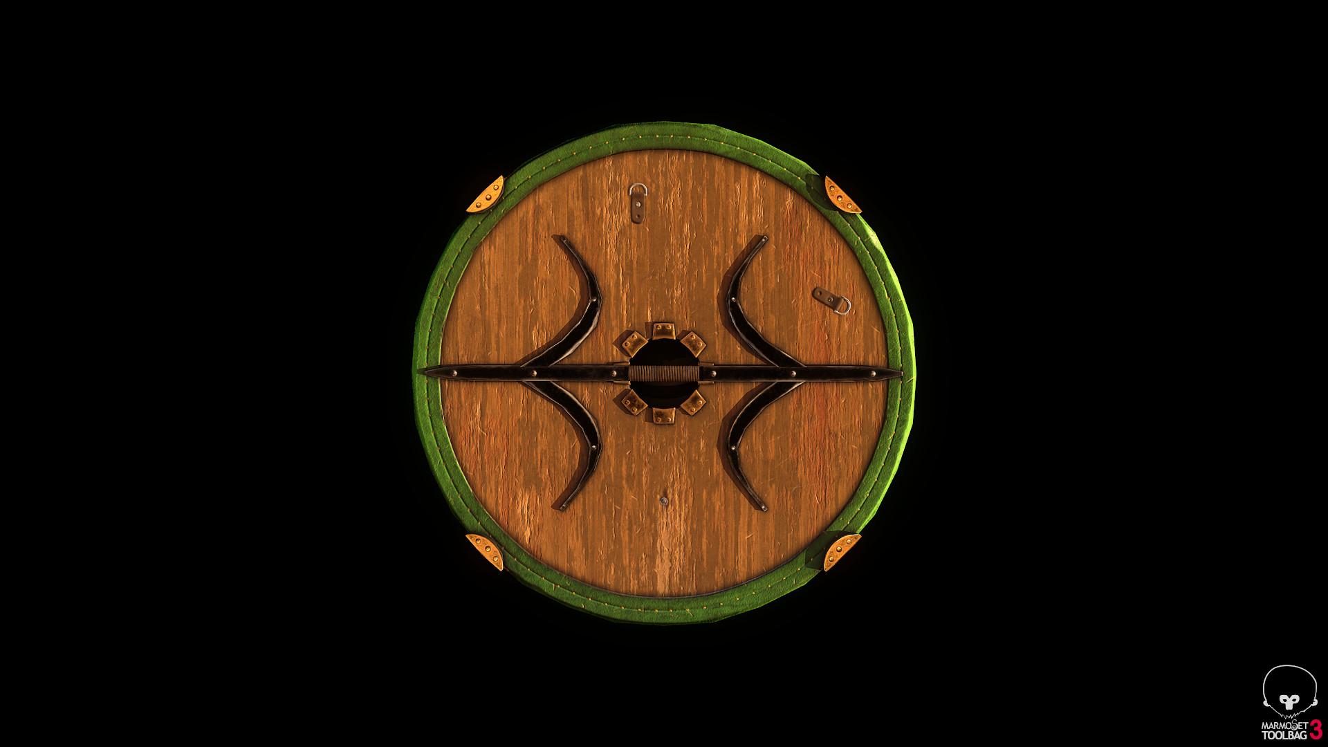 Bela csampai s4h rohan shield eorl guard 01 render mt 03