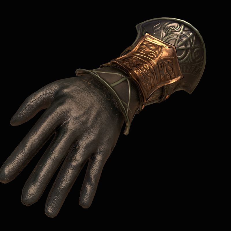 Bloodborne Inspired Gauntlet