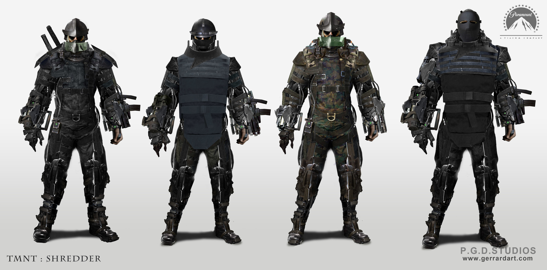 TMNT Costume Design SET 1