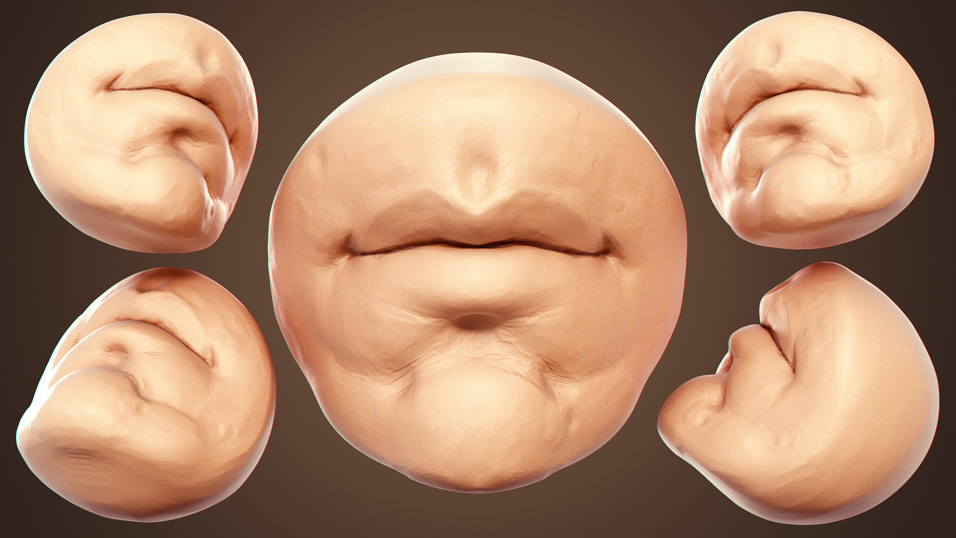 Mr. Mouth - How To Sculpt The Mouth In Blender_BY Yanal Sosak Sculpt Sculpt,Mouth,Blender