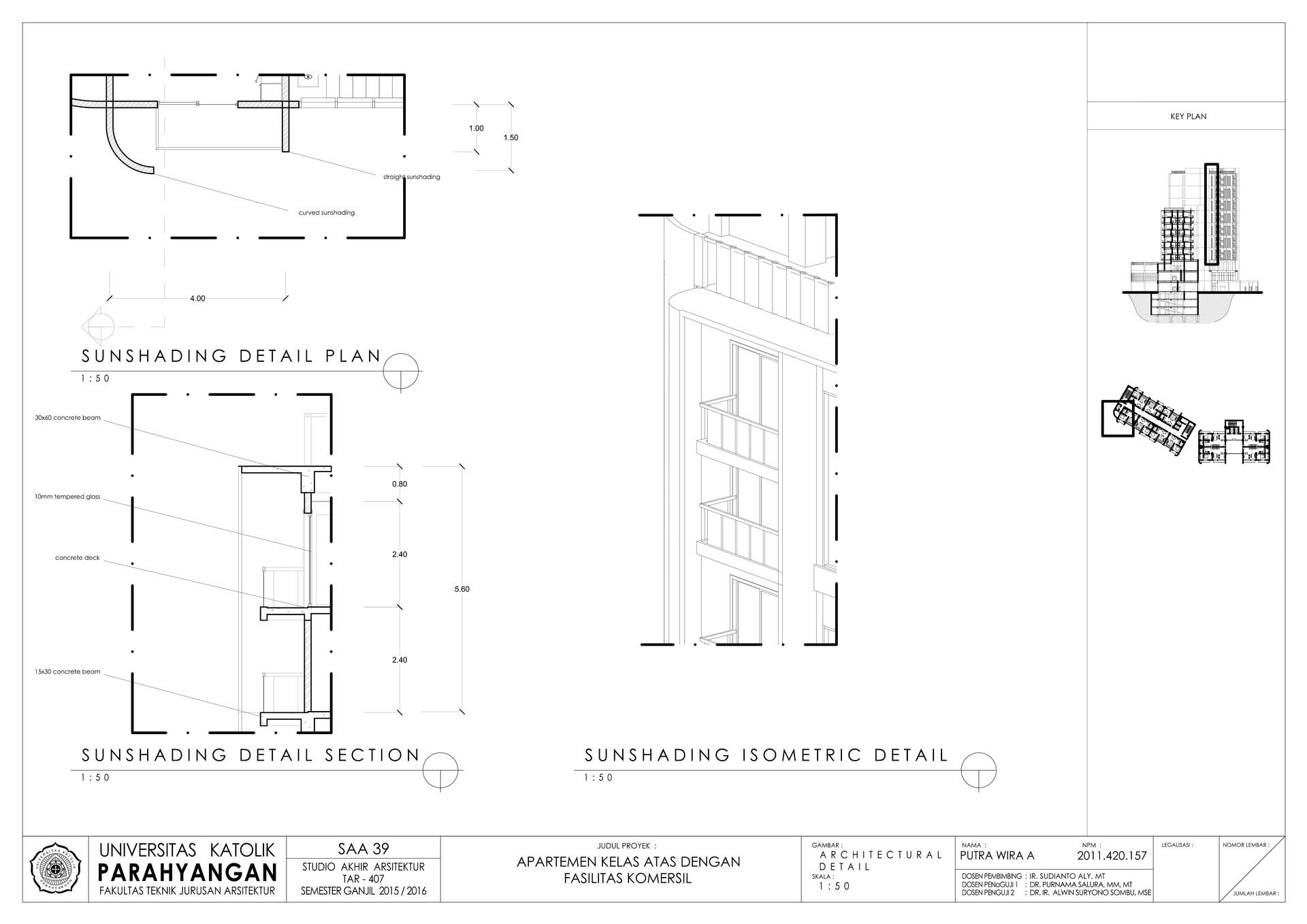 Putra wira adhiprajna 16 architectural detail