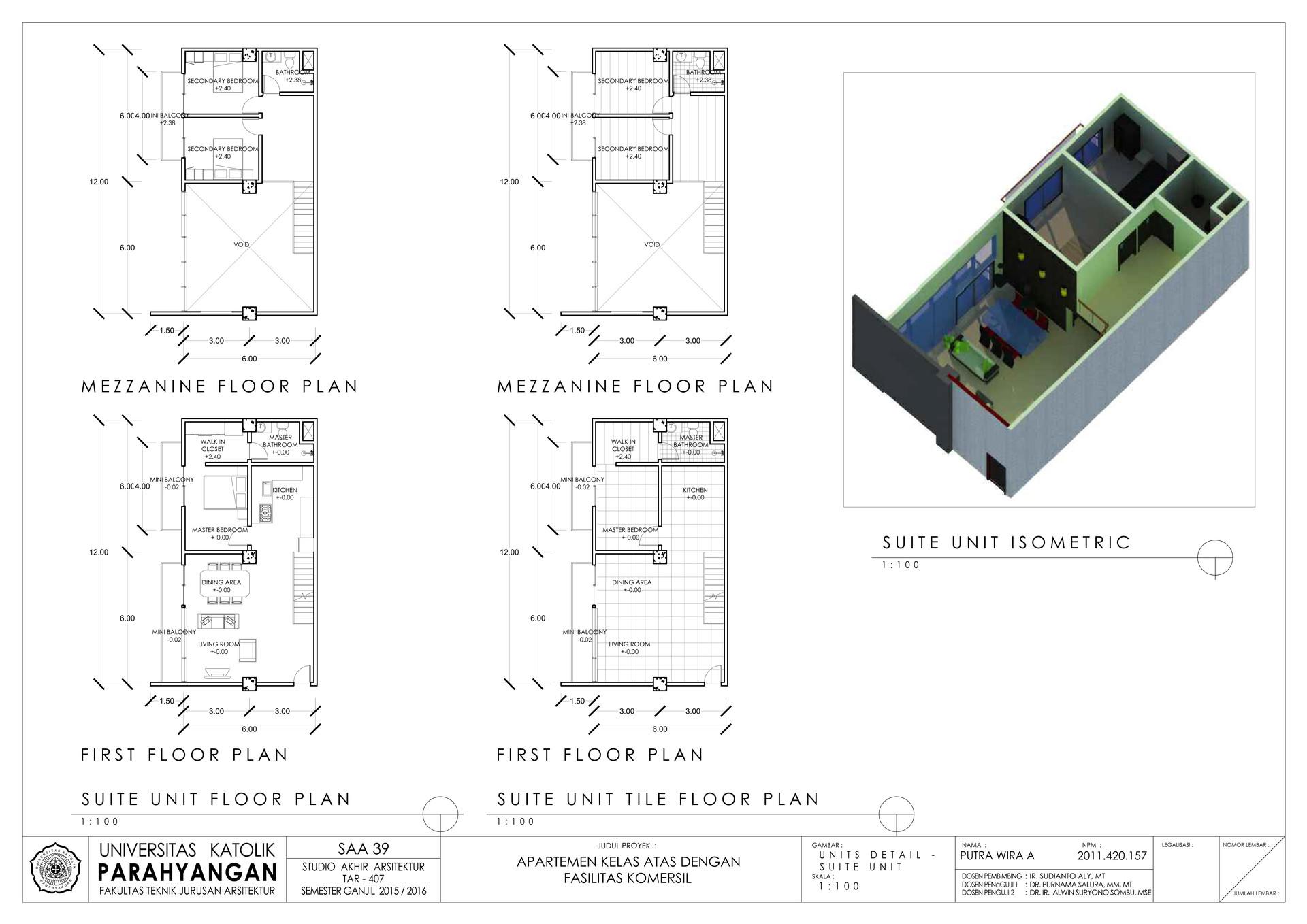 Putra wira adhiprajna 8 unit detailed suite