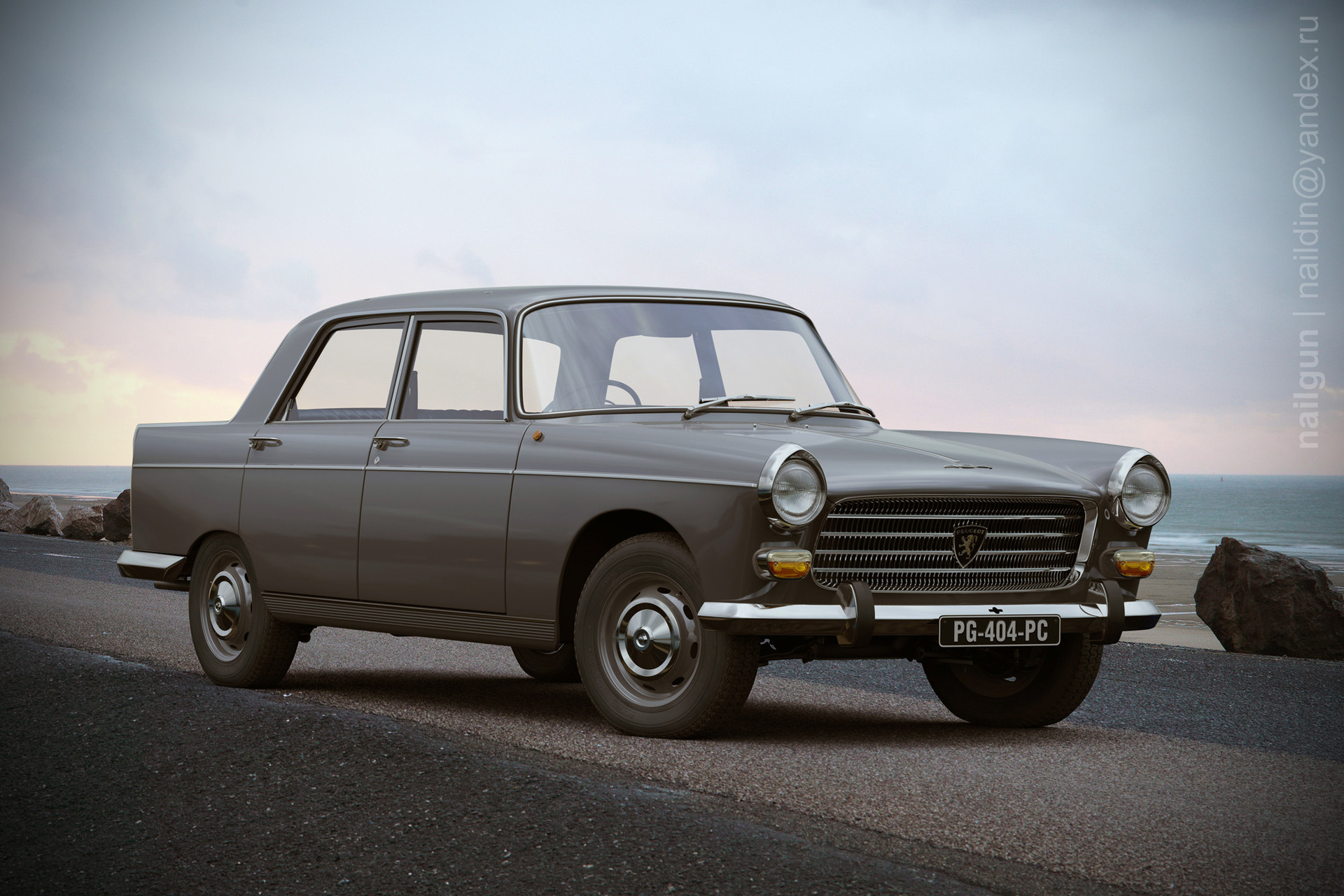 Nail khusnutdinov pwc 047 010 peugeot 404 central page 3x color