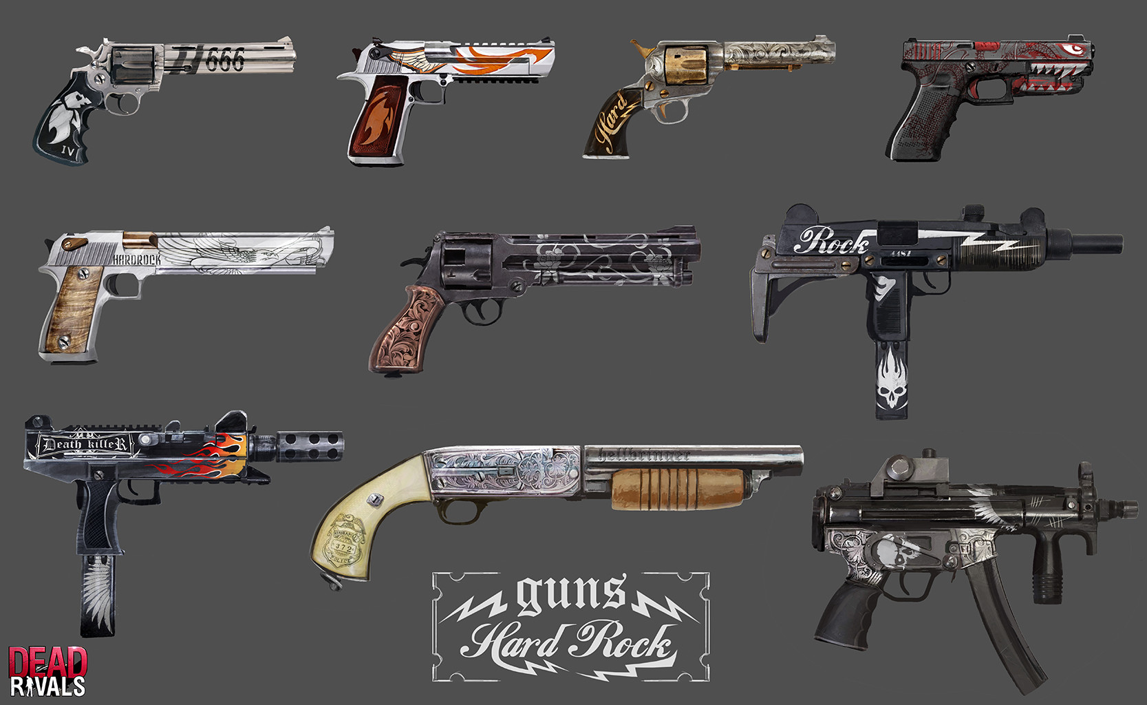 Alexandre chaudret dw props weapons 01