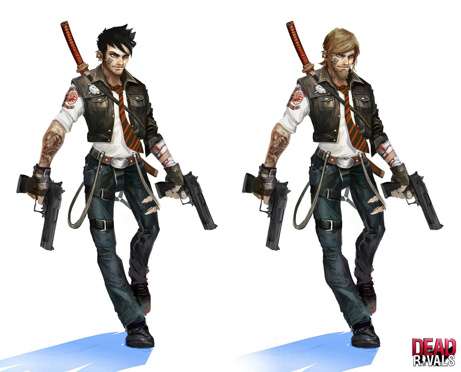 Alexandre chaudret zombiemmo character boy redesign06b