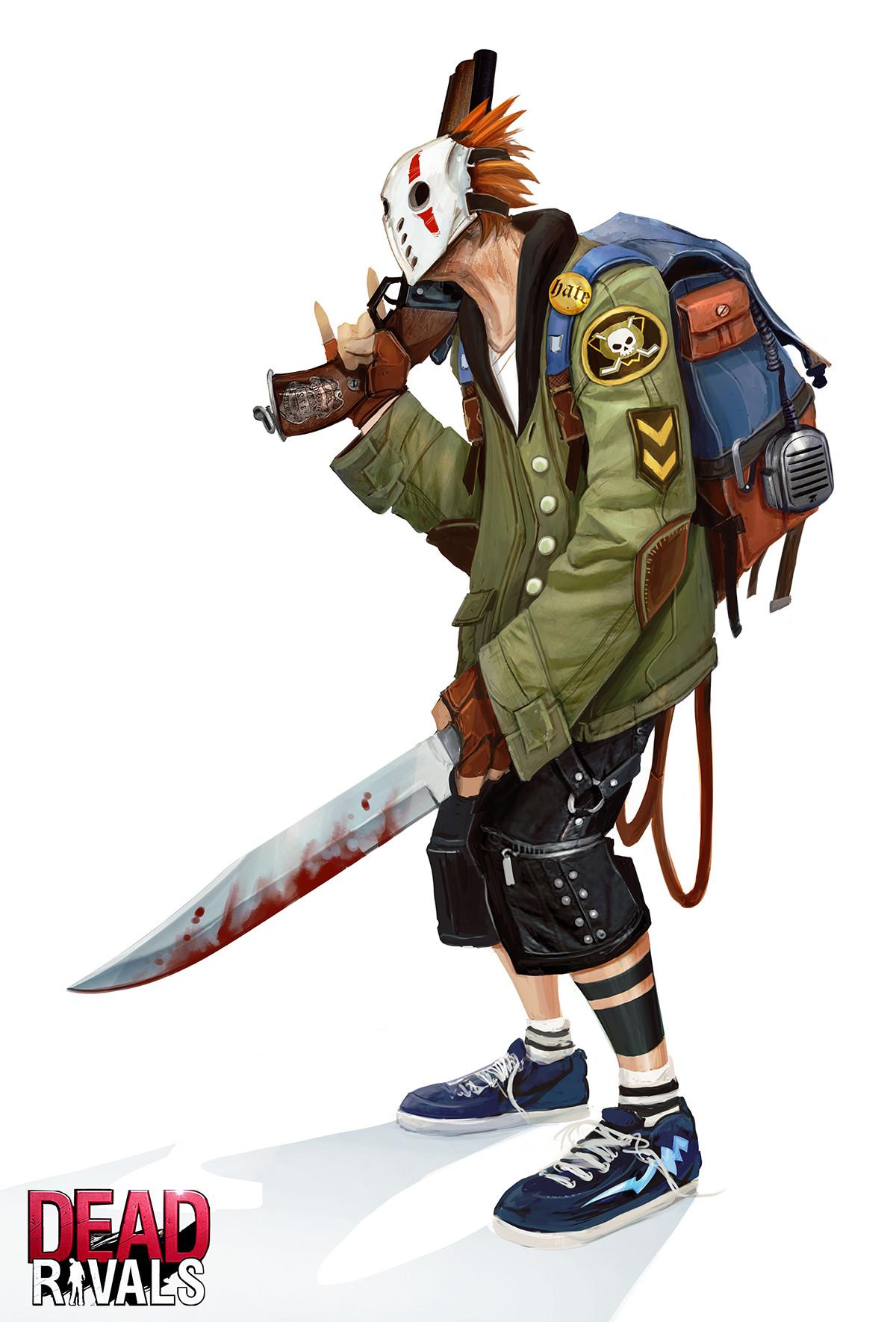 Alexandre chaudret zombiemmo character mask04
