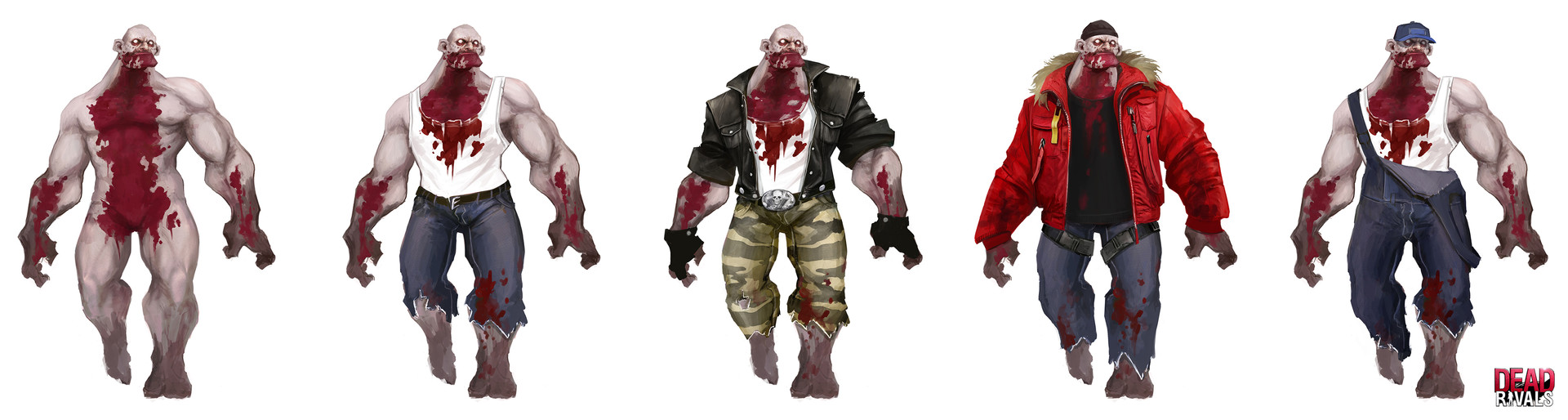 Alexandre chaudret dw characters zombies variation02
