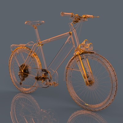 Tolga aksu glass bike