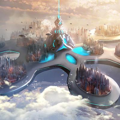 Godwin akpan beyond human sky city
