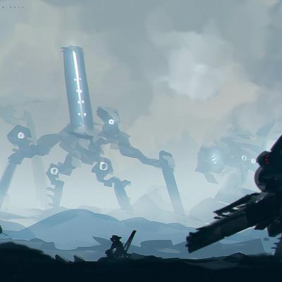 Benedick bana giant robot island lores