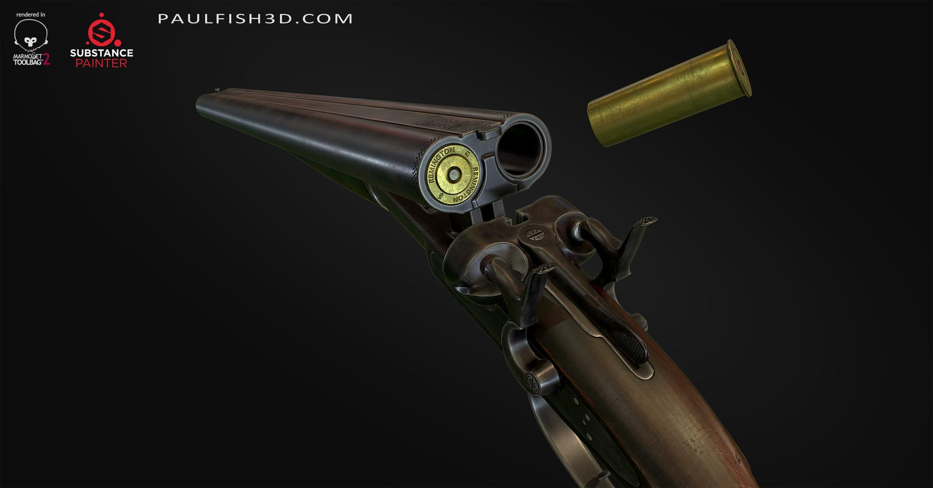 Paul fish remington1882 shortbarrel 005