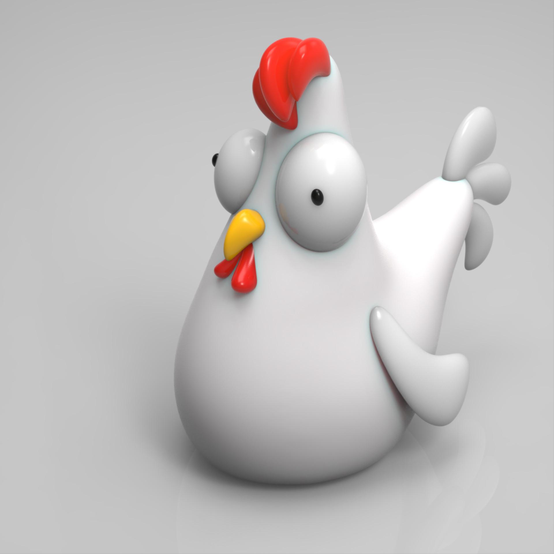 toy chicken