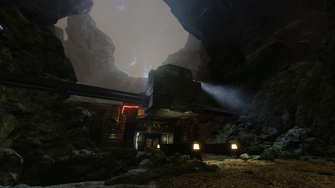 ArtStation - Slipgate Complex remake in Unreal Engine 3, João Burini