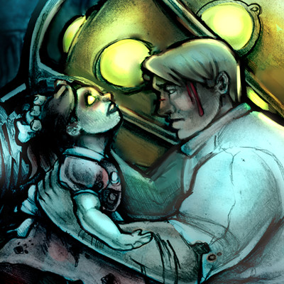 Carolyn dilts bioshock illustration resized