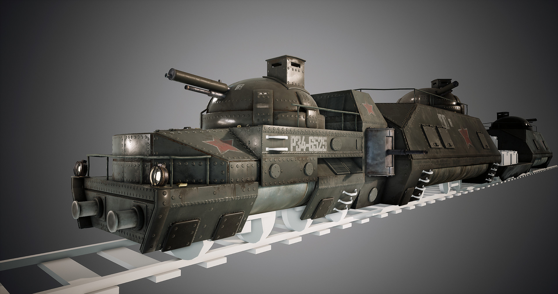 Harley wilson armortrain wip 10