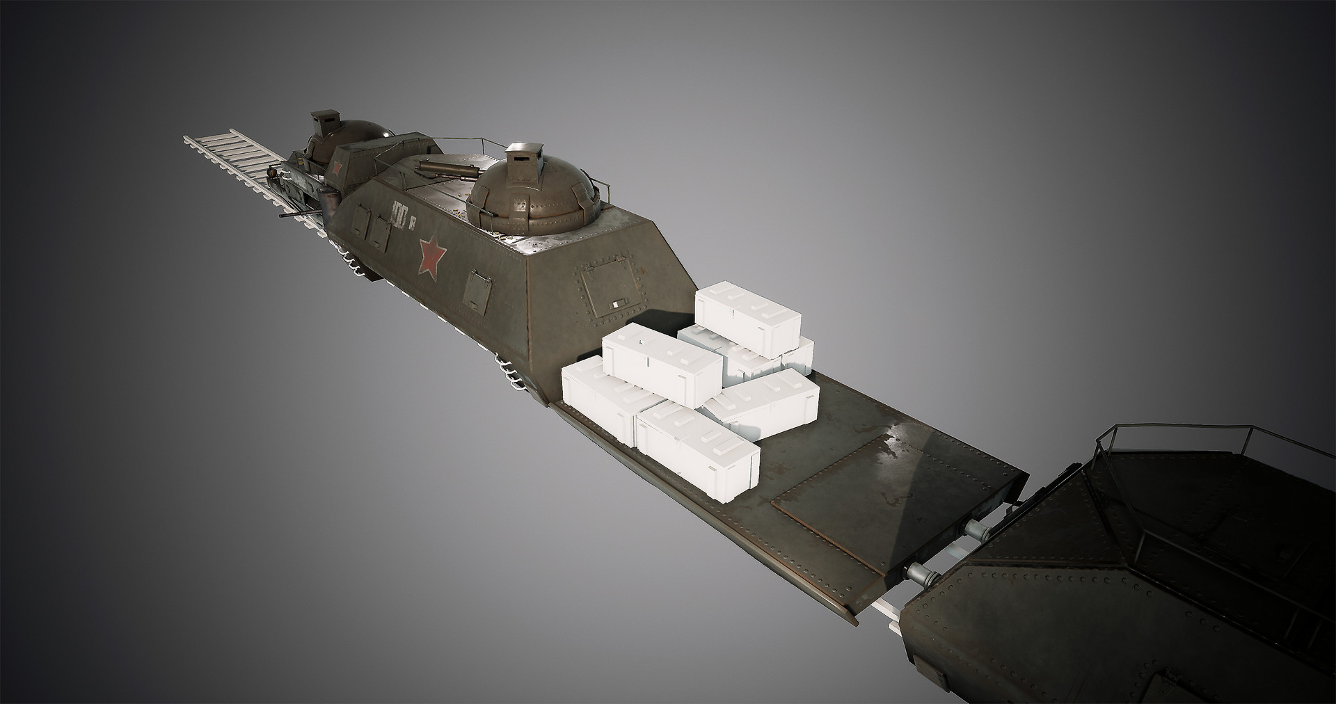 Harley wilson armortrain wip 12