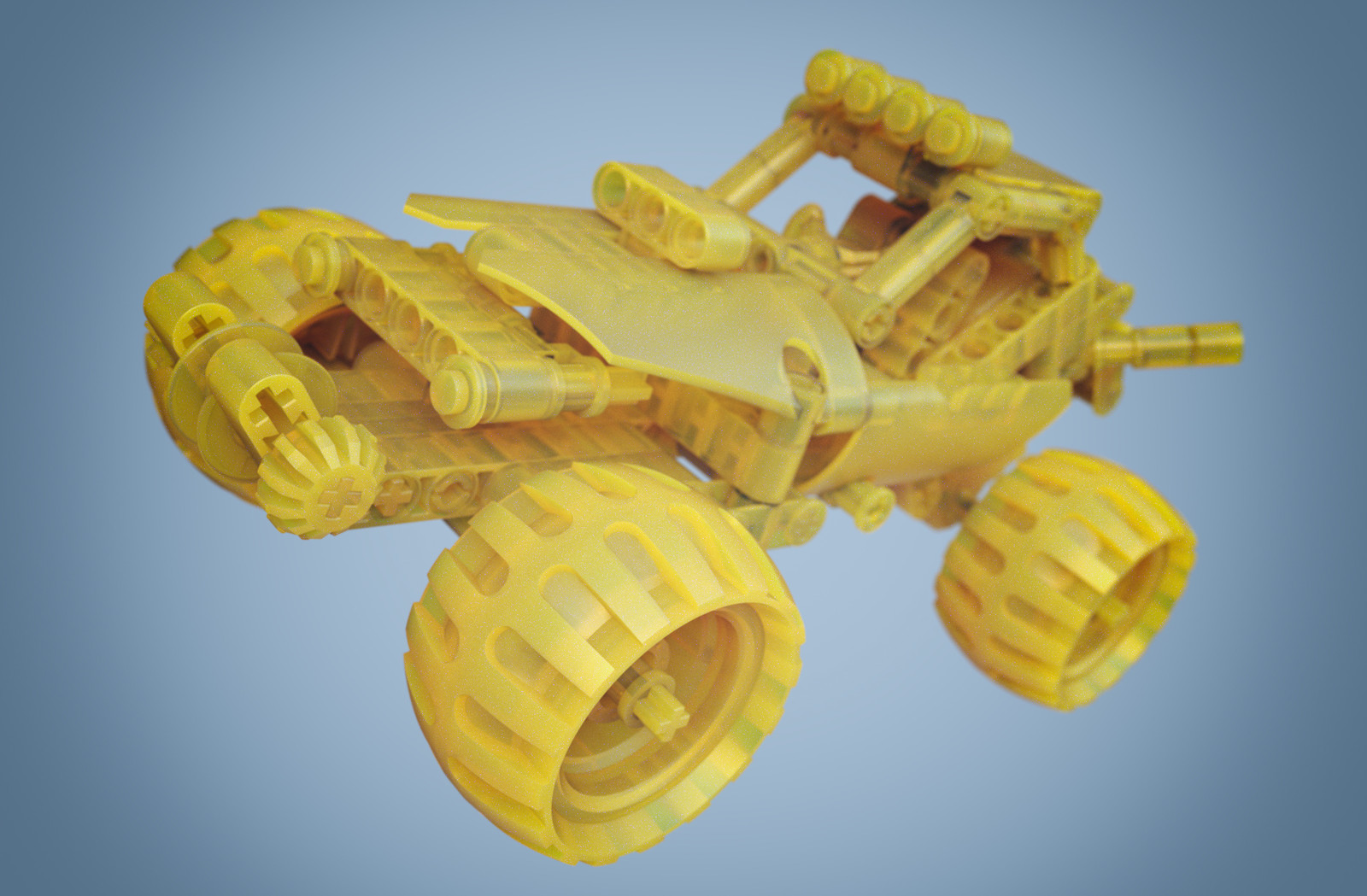 KeyShot 7 Beta - Desert Racer (Yellow)