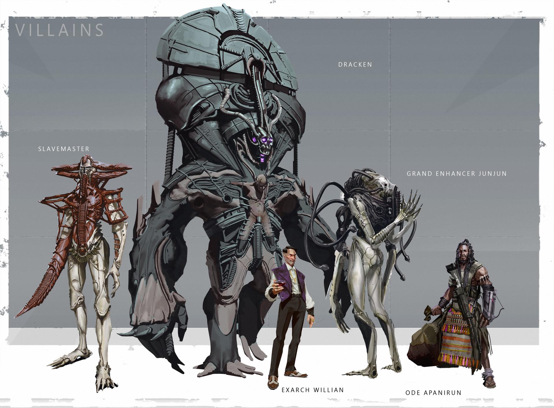 Connor sheehan lineup villains