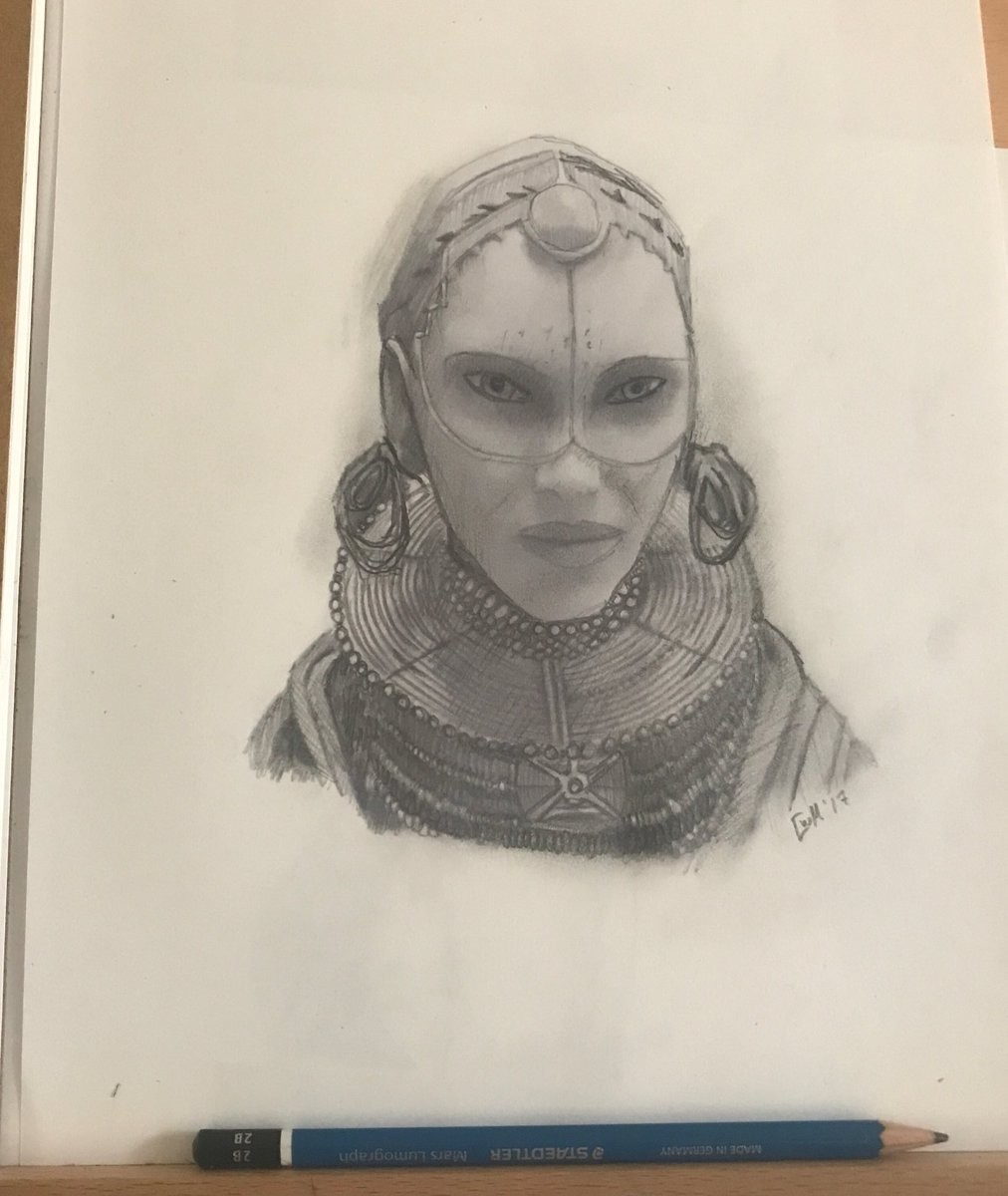 Alien Sketch - Valerian