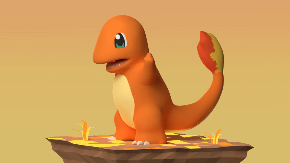 Pokemon 02: Charmander