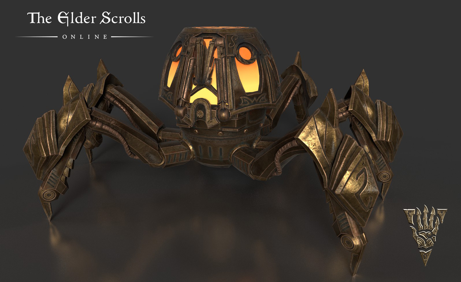 Clockwork Firepot Spider