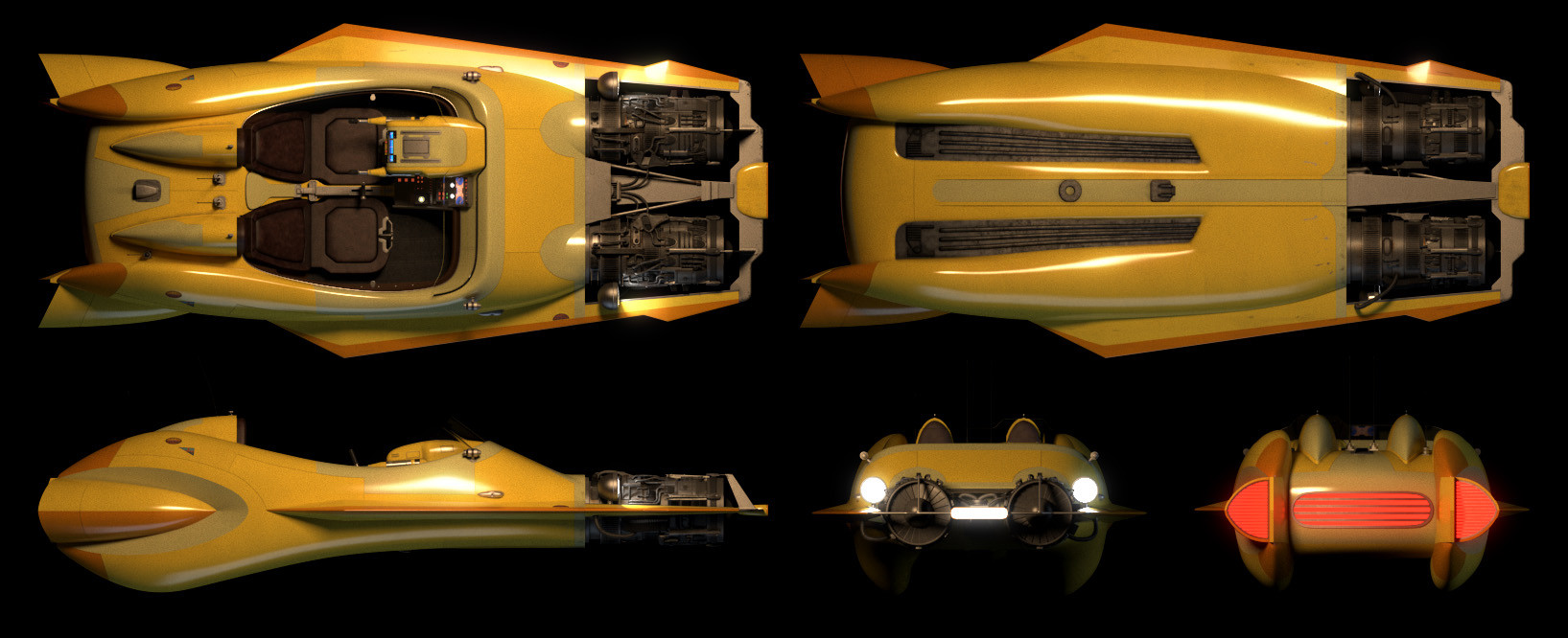 Zachary brackin speeder orthographic