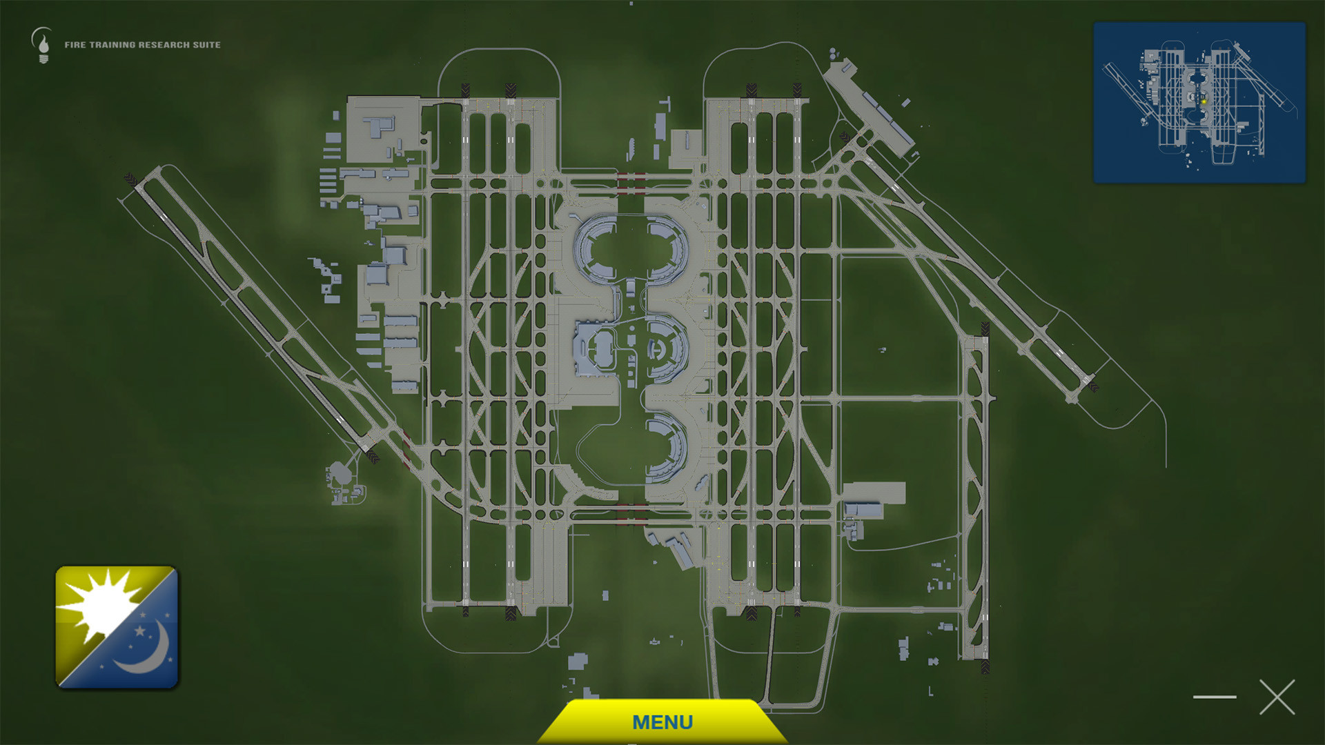 Full model of DFW airport, took a while to model due to the need to make it accurate. All markings modeled, all signs modeled (1,237 textures for that)