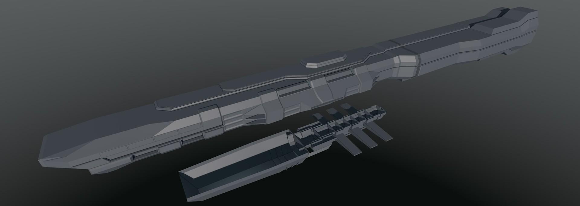 Glenn clovis concept battleship saratoga 8
