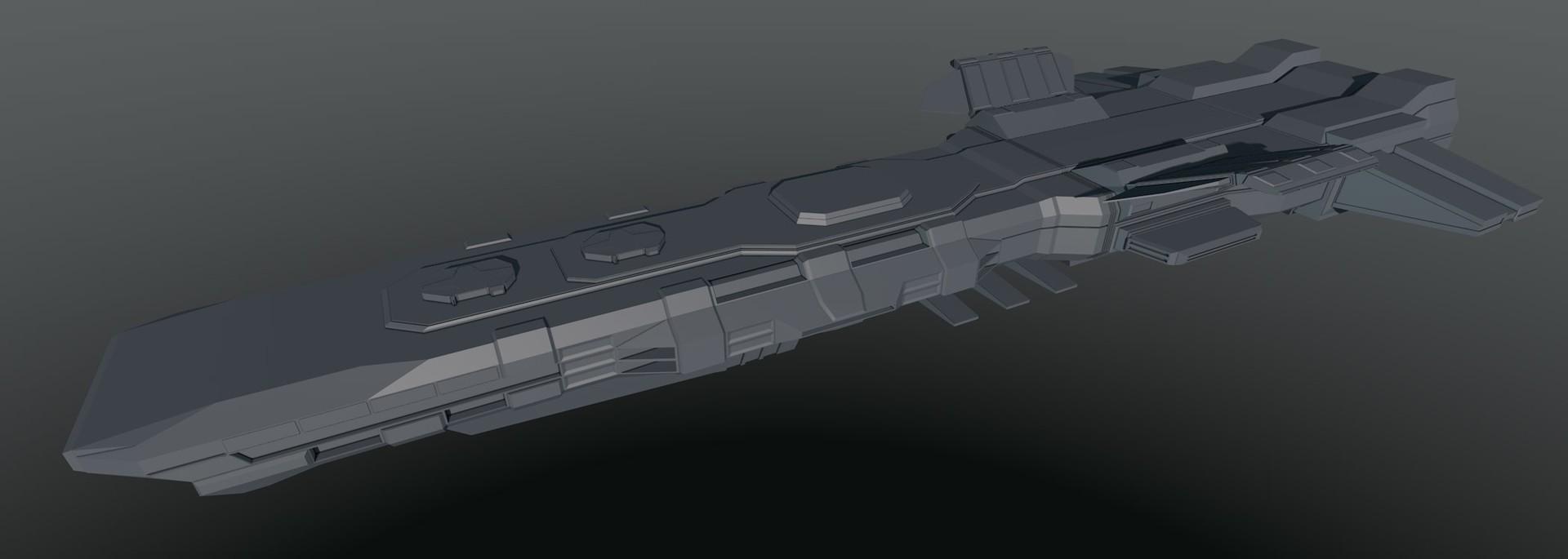 Glenn clovis concept battleship saratoga 9