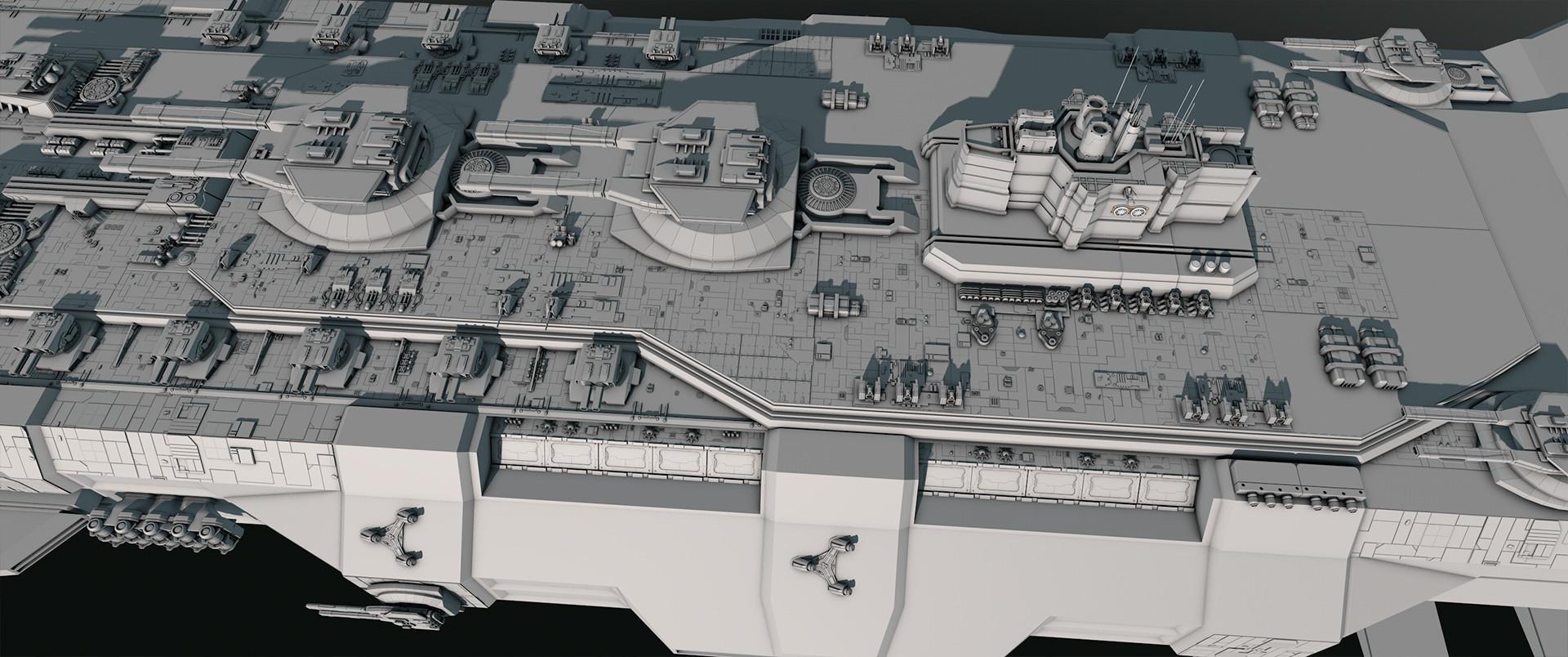 Glenn clovis concept battleship saratoga 30