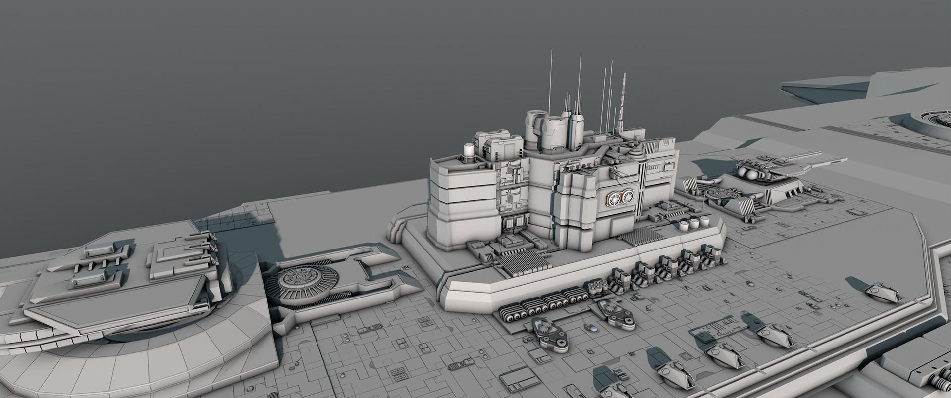 Glenn clovis concept battleship saratoga 36