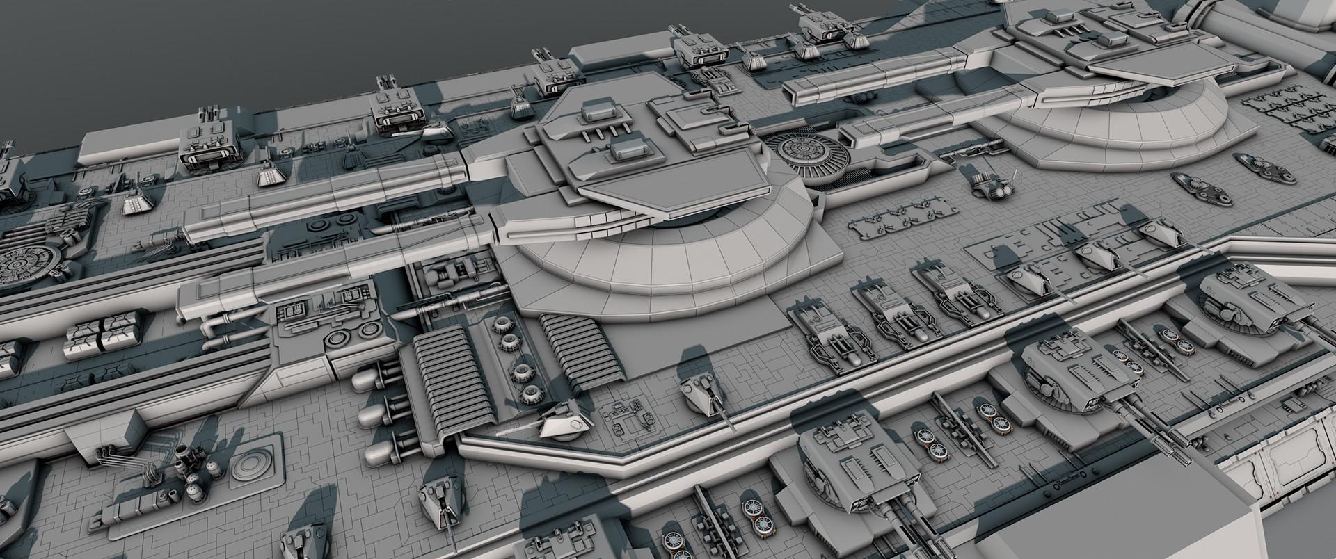 Glenn clovis concept battleship saratoga 38