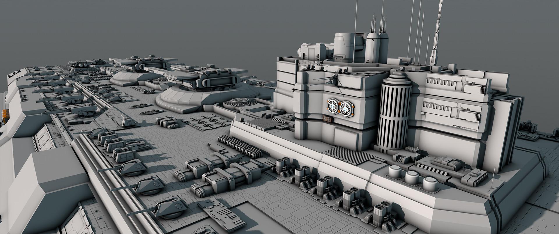 Glenn clovis concept battleship saratoga 39