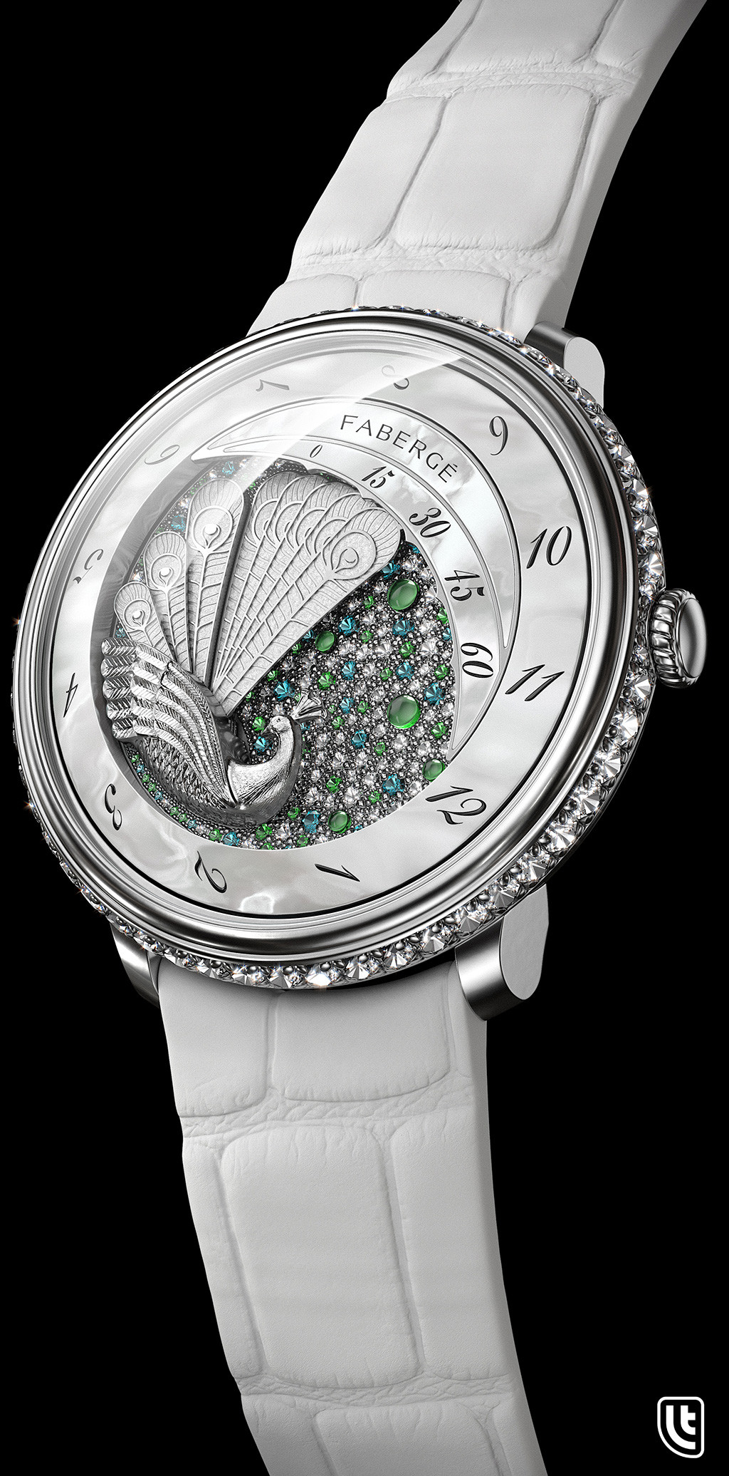 David letondor peacock winter faberge david letondor v2