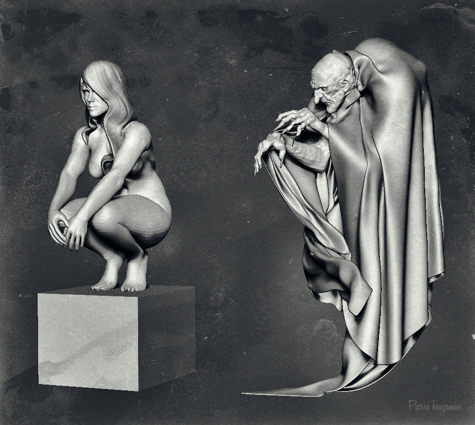 Pierre benjamin nosferatu womandddddd