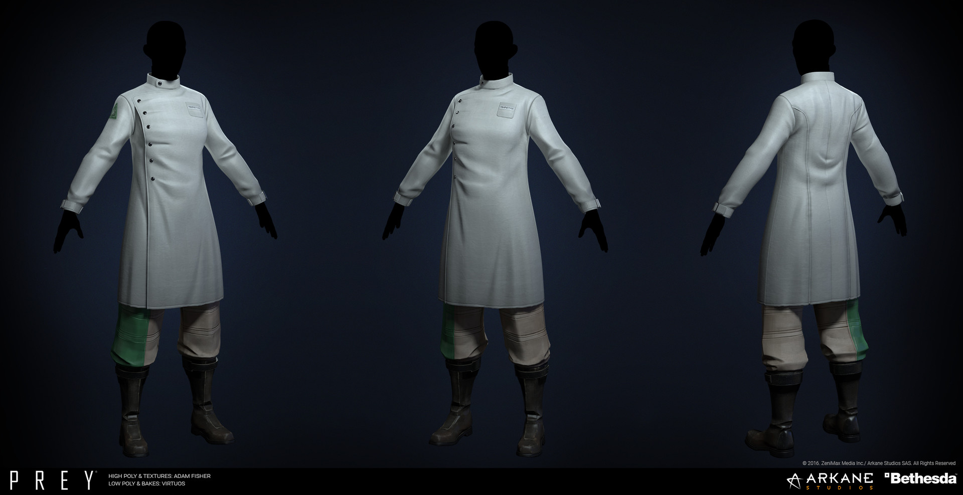 Adam fisher afisher prey labcoat female