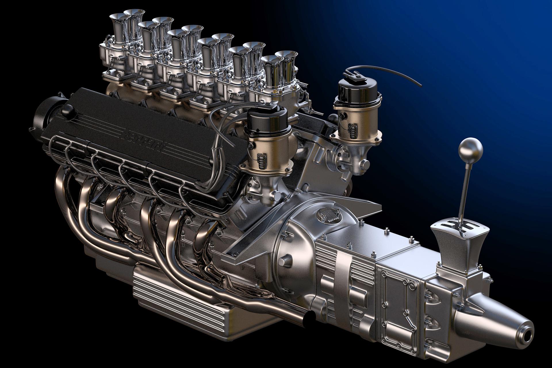ArtStation - V12 Engine, Ying-Te Lien