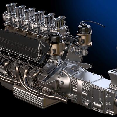 Ying te lien 3d v12 engine