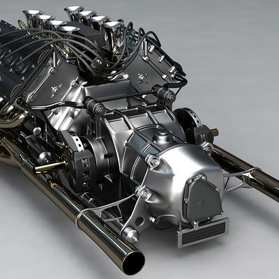 Ying te lien v8 engine 13