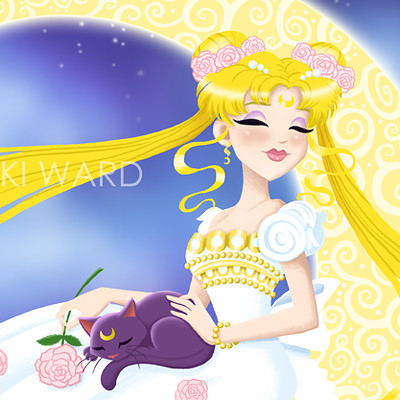 Nikki ward 11x14 princess serenity display