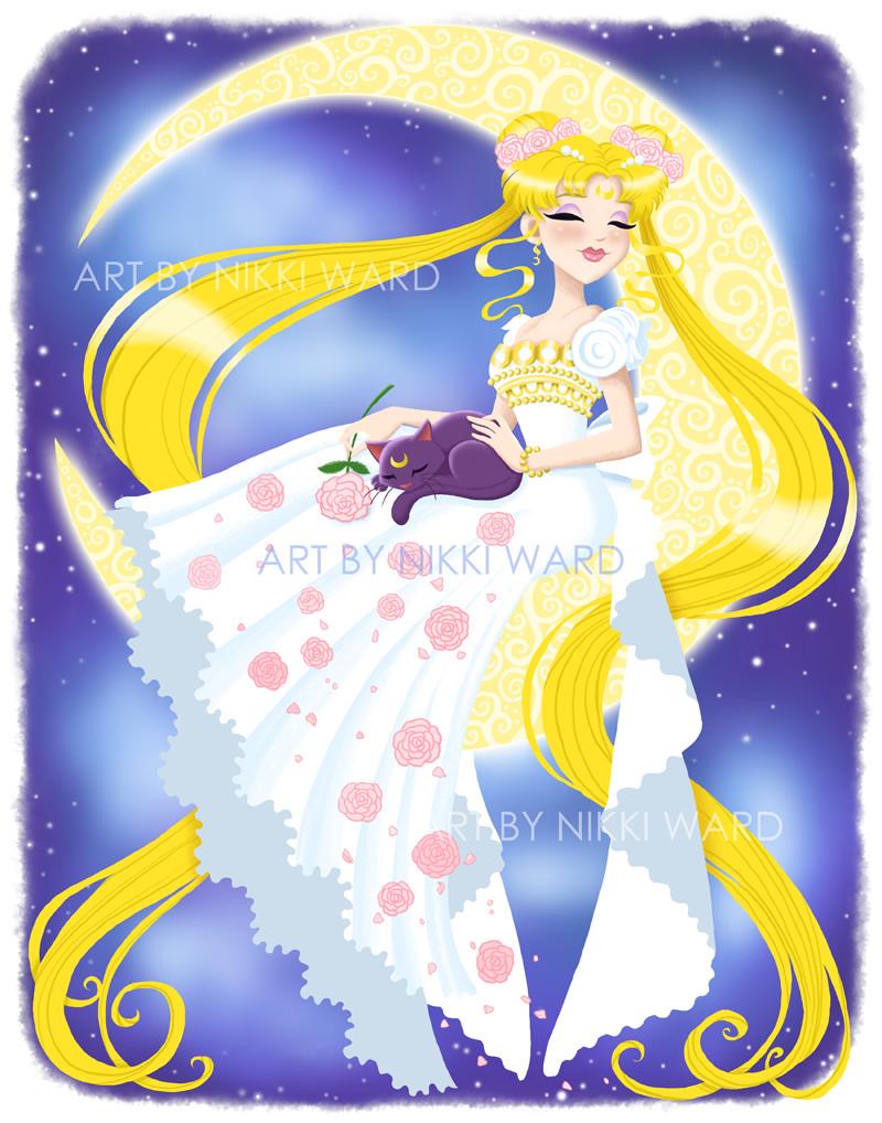 Nikki ward 11x14 princess serenity display