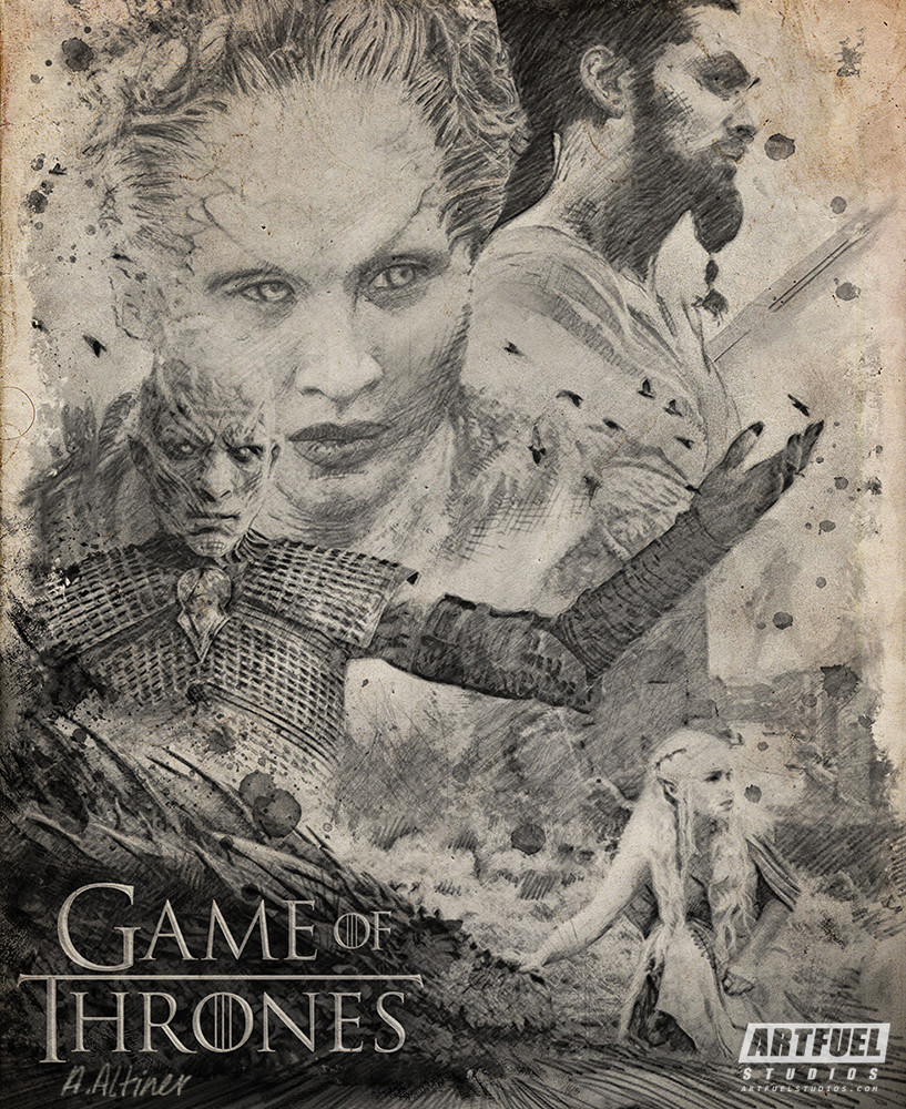 Personal illustration of GAMES OF THRONES