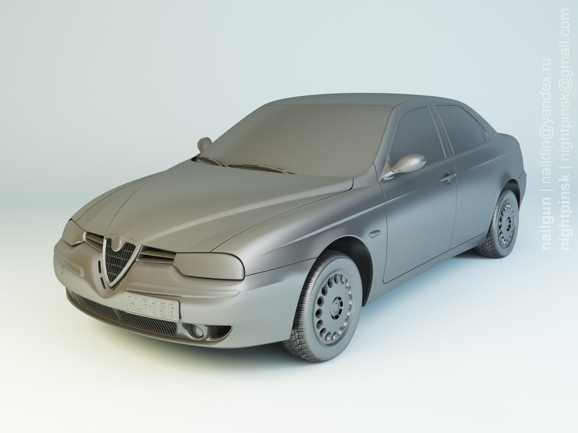 Nail khusnutdinov pwc 049 000 alfa romeo 156 modelling 0