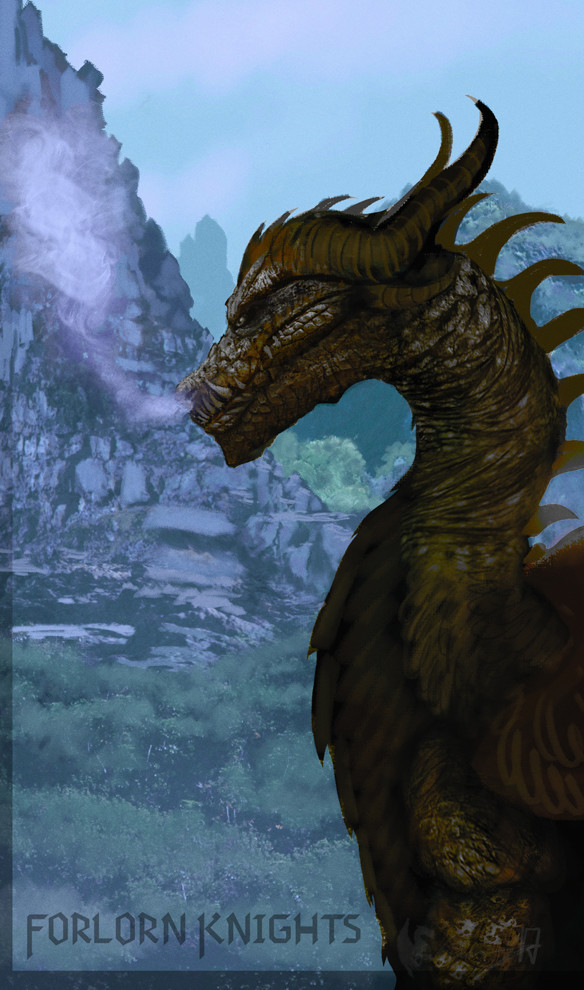 Dragon Illustration of July 2017