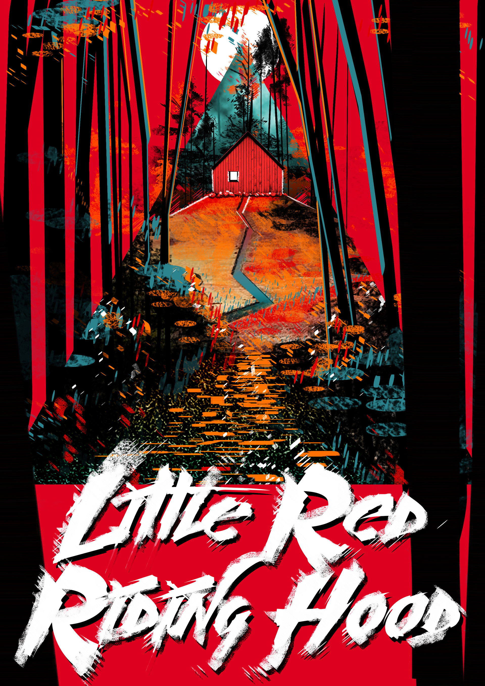 Carla Rylance Alternate Book Cover Little Red Riding Hood