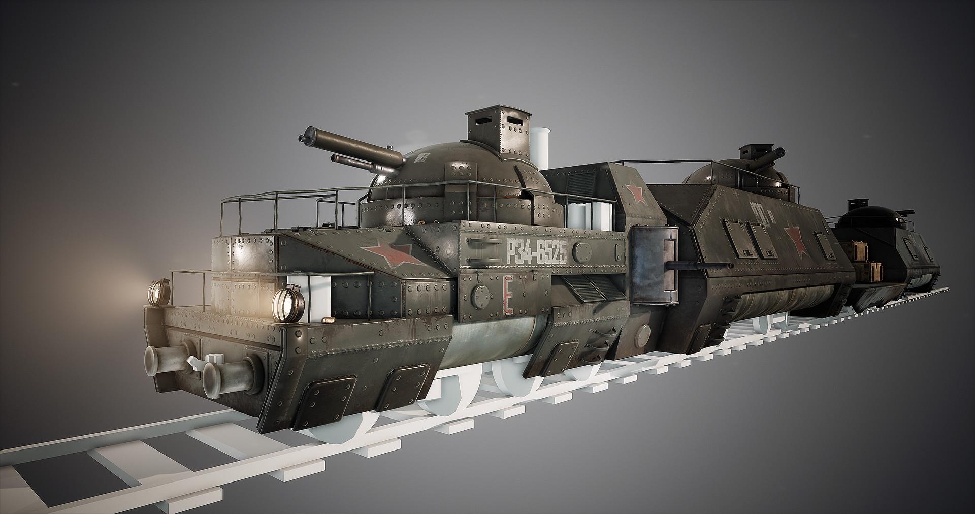 Harley wilson armortrain wip 15