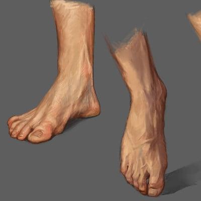 Male Foot Studies