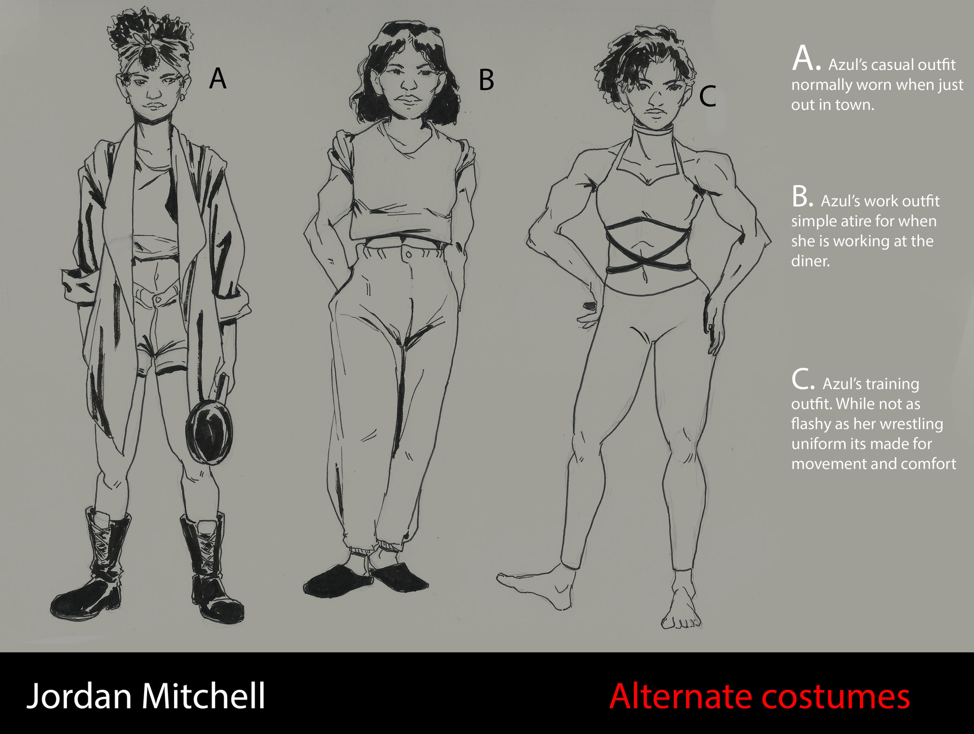 Jordan mitchell costume variations submit