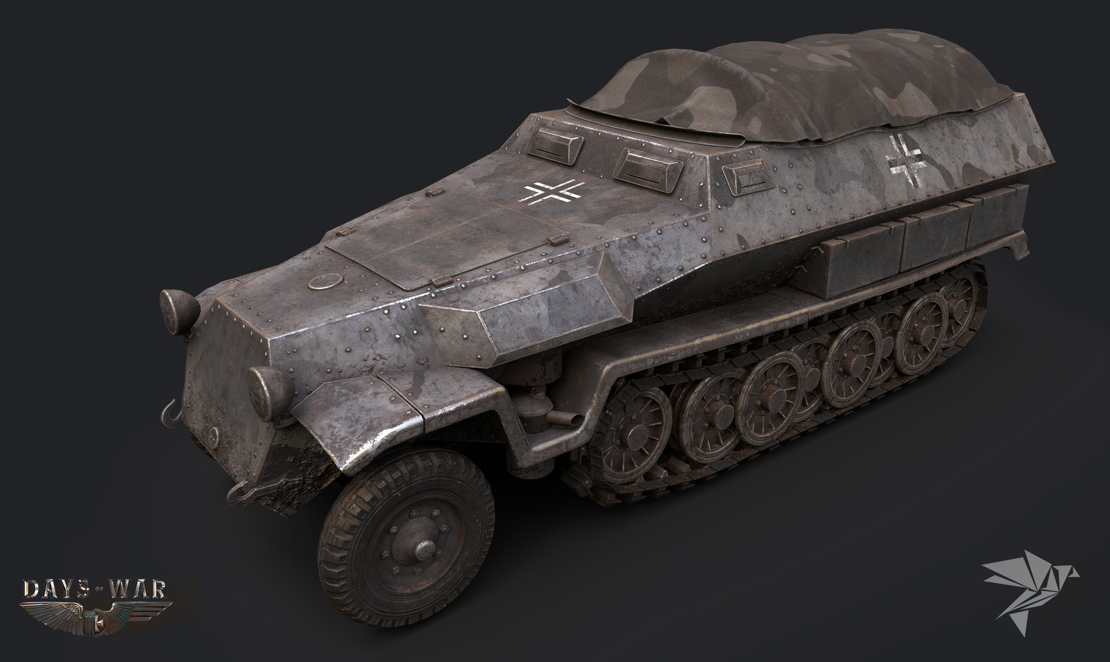 Days of War - German HalfTrack