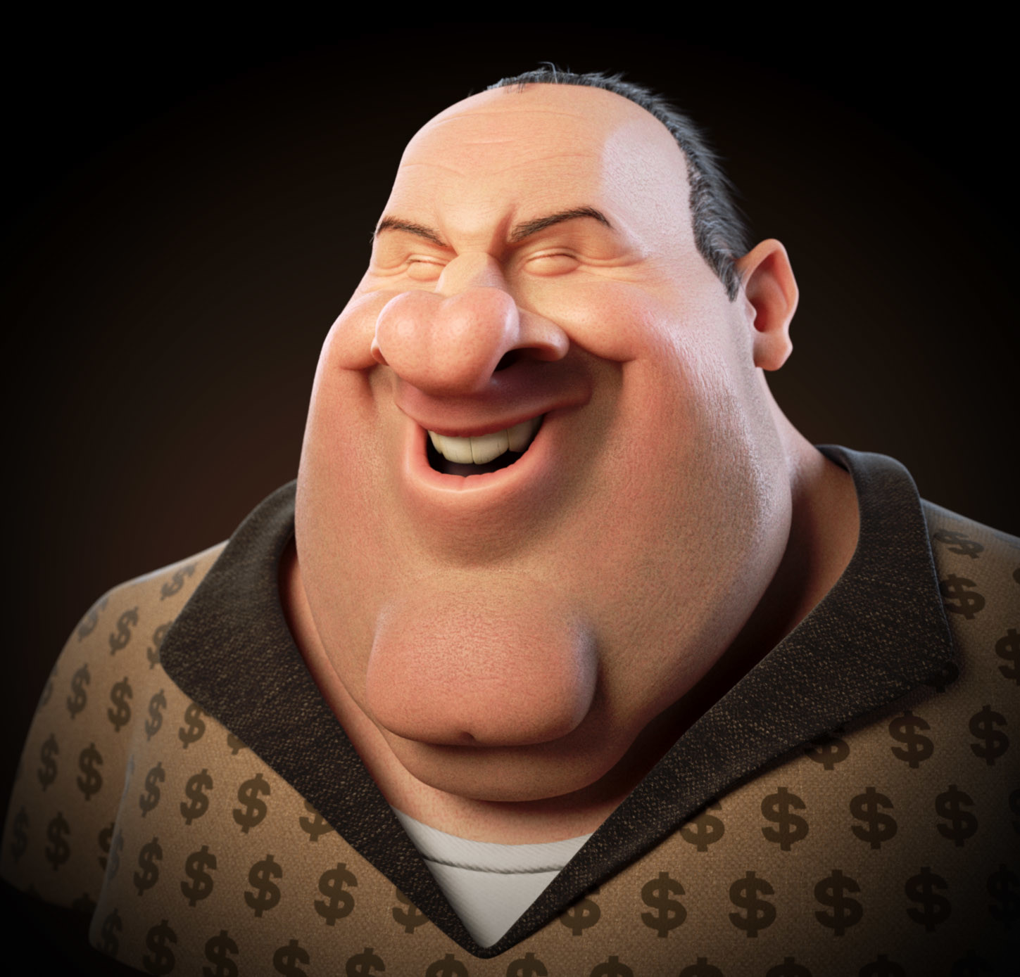 James Gandolfini Caricature